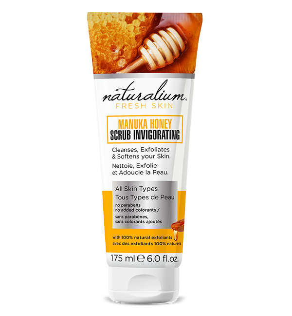 Exfoliante y Mascarilla facial manuka honey scrub