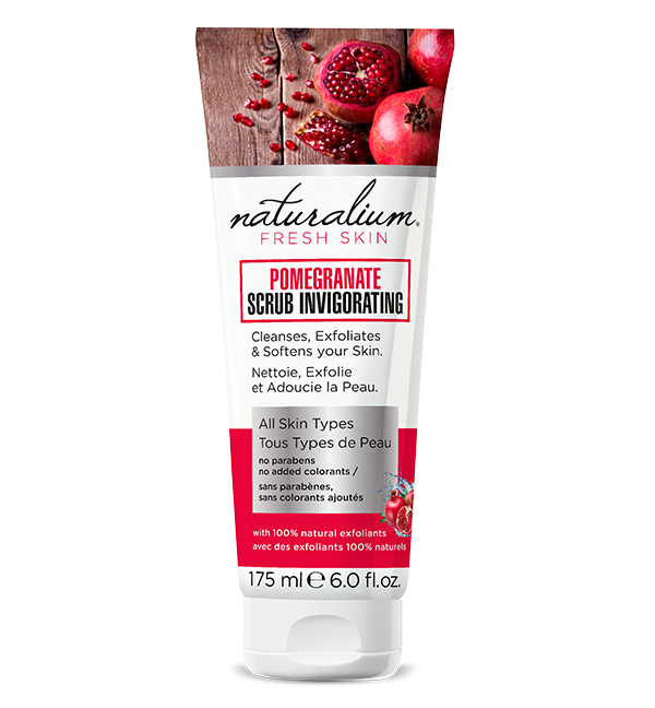 Exfoliante y Mascarilla facial pomegranate scrub