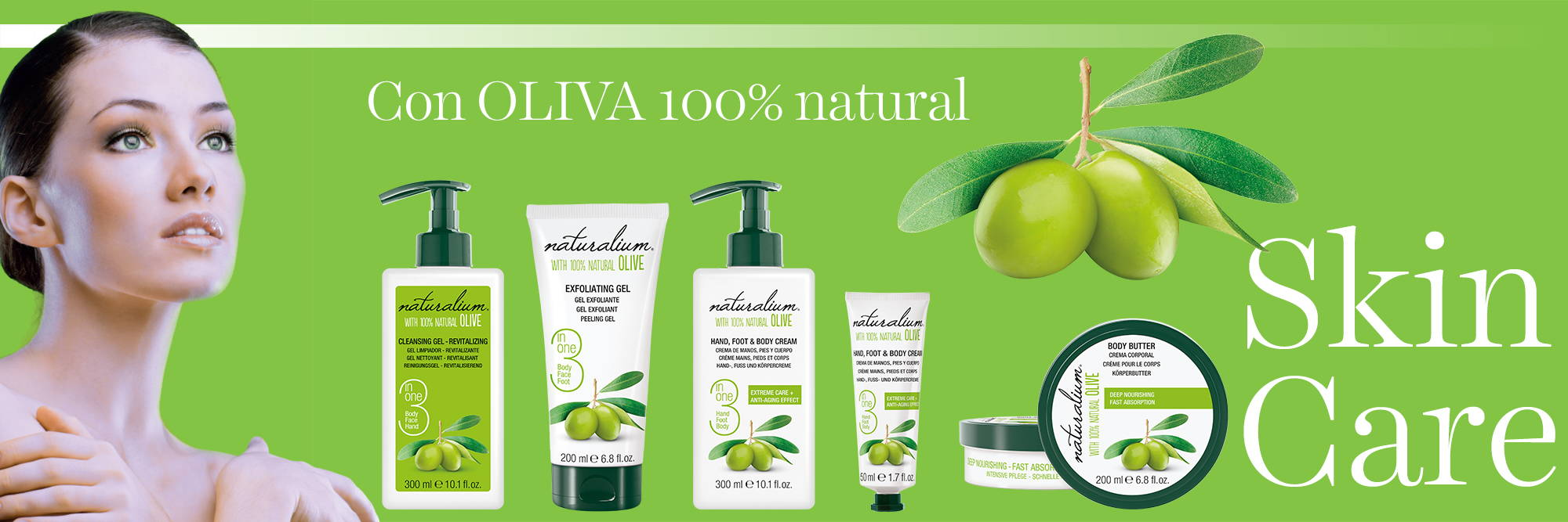 Skin Care Oliva Naturalium